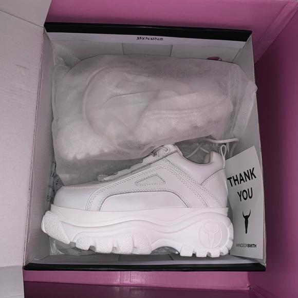 Windsor Smith Lupe Sneaker In White